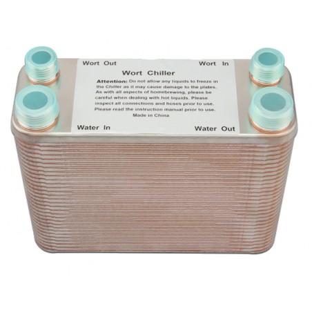 Radiateur à mèche en tôle en acier inoxydable 60