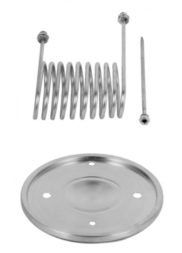 30L BrewDevil SS Conical Cooling Lid Kit