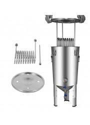 Kit de Tampa de Refrigeração Cônico 30L BrewDevil SS