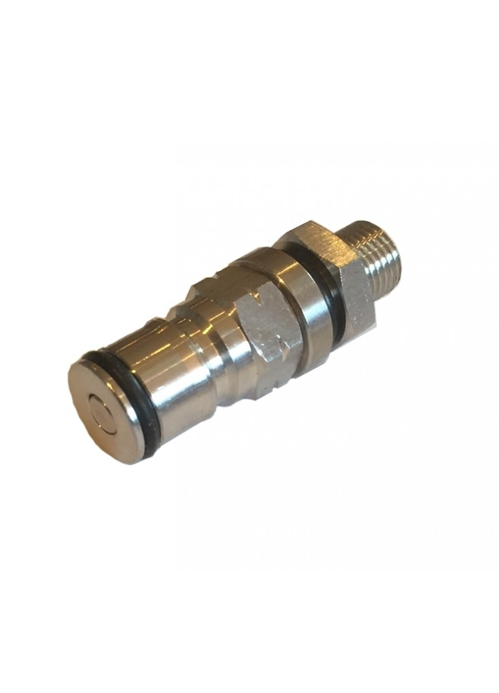 Ball Lock Gas Post to 14 BSP Bulkhead Assembly