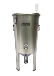 30L BrewDevil SS Conical Fermenter