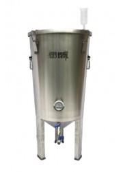 Fermentador cônico de aço inoxidável de 30L BrewDevil