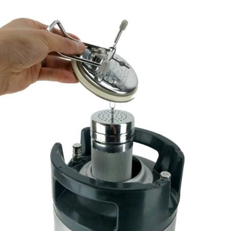 Nouveau Lock Lock Cornelius Keg de 9,5 litres
