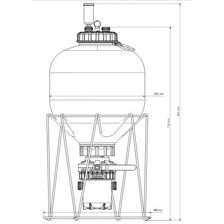 PREORDER-Fermzilla 27L Starter Kit Gen2
