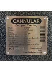 Cannular compact canning máquina de conservas