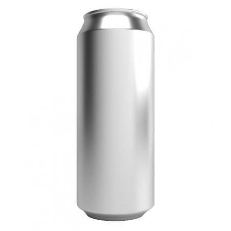 Latas descartáveis de alumínio da bebida 500ml com tampas