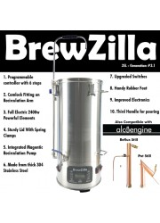 Robobrew / Brewzilla 35L v3.1.1 Package Bundle