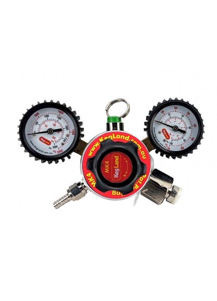 Dual Gauge Regulator Mk4 Multi Gas - Type 30