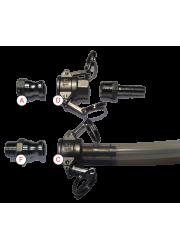 """Kamlock / Camlock 1/2"""" BSP Type A Acier inoxydable"""