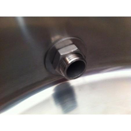 2 pièces de la vanne de Kit / billes robinet sans soudure 1/2 pouce