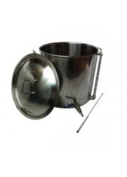 70L Inox Pot aço com Tap e Visor
