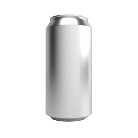 Canettes de boisson / bière jetables en aluminium 440ml avec couvercles