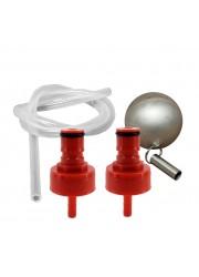 Fermzilla Kit de pressão (Plastic Carbonation Caps)