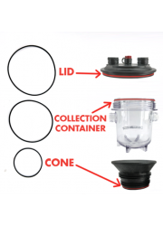 Fermzilla Seal Kit (Lid, Collection Container and Cone O-ring