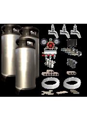 Dreifacher Wasserhahn Kegerator / Keezer Kit