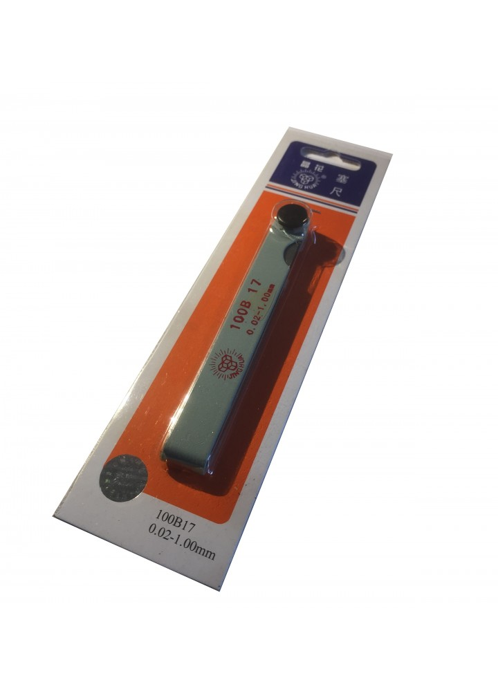 Jauge d'épaisseur Cannular (0,02 mm - 1 mm)