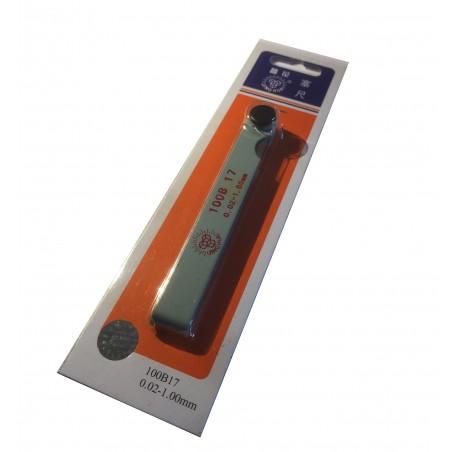 Cannular Fühlerlehre (0,02 mm - 1 mm)
