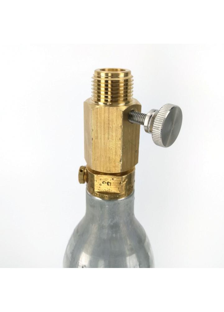 Adaptateur de cylindre Delux SodaStream (avec réglage des broches)