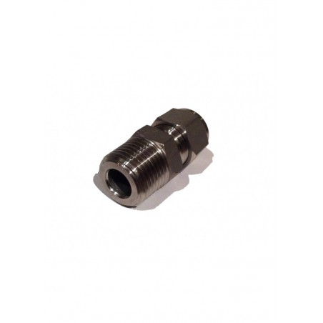 "3/8"" Compression to 1/2"" BSP Male Stainless Steel Adapter"