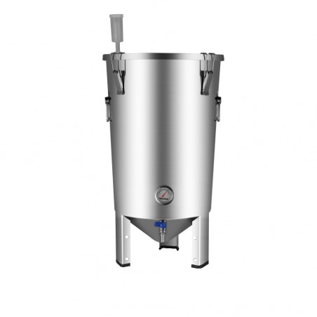 30L BrewDevil SS Conical Fermenter (w/o Dump Valve)