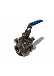 "3 Piece 1/2"" Full Bore Ball Valve"