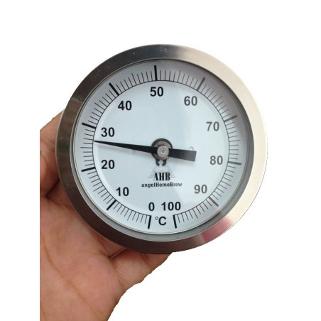 83mm Fixed Head Edelstahl Thermometer