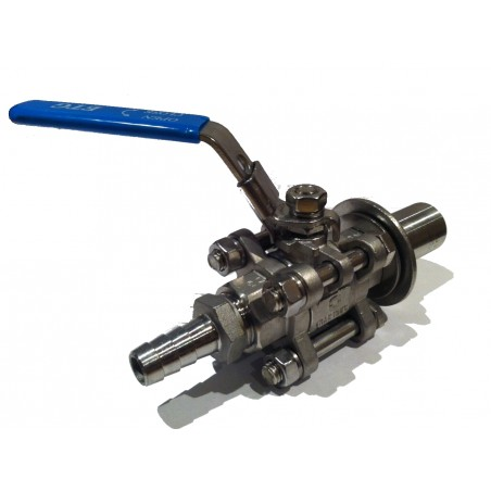 "3 Piece 1/2"" BSP weldless tap kit"