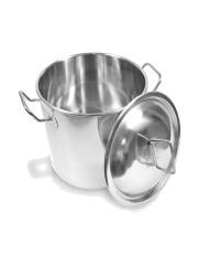70L Inox Pot Aço