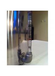 100L Acier pot d'acier avec robinet et le verre de vue