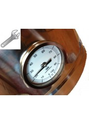 Thermos Pot eingefallen Thermometer pass