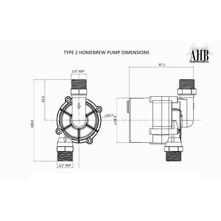 12V homebrew pompe de type 2