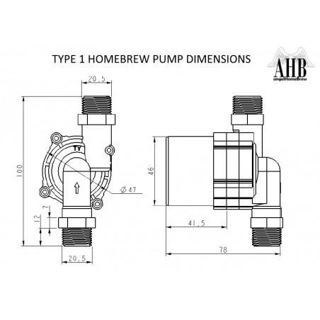 Homebrew 12V Pumpe-Typ 1