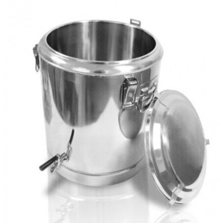 38,5 L thermos d'acier inoxydable Pot