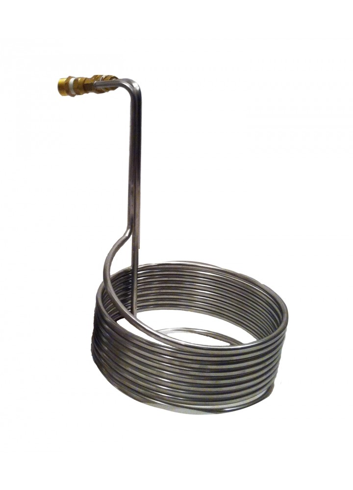Stainless Steel Immersion Wort Chiller (25ft)