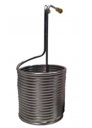 Acier inoxydable immersion Wort Chiller (50ft)