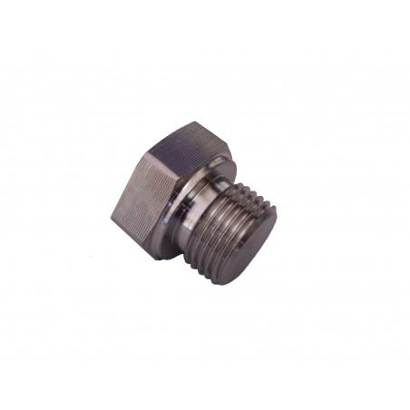 """1/2"""" BSP Solid Hexagonal Plug"""