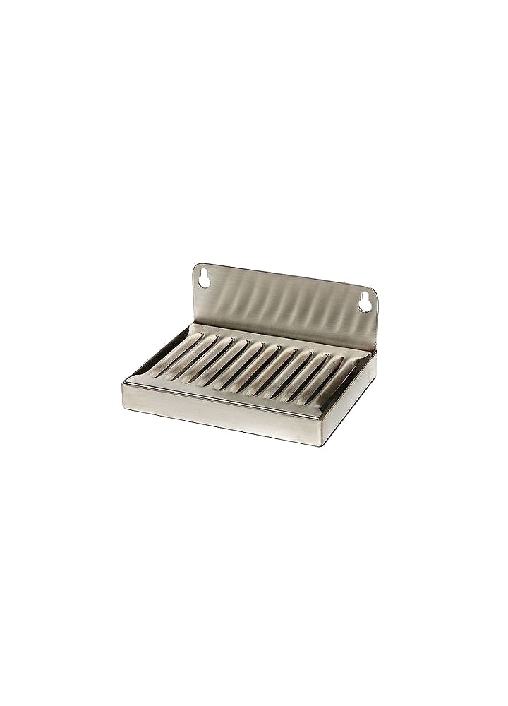 "6"" x 4"" Stainless Steel Drip Tray"