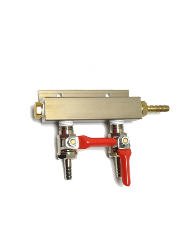 2 Way Splitter Manifold gás