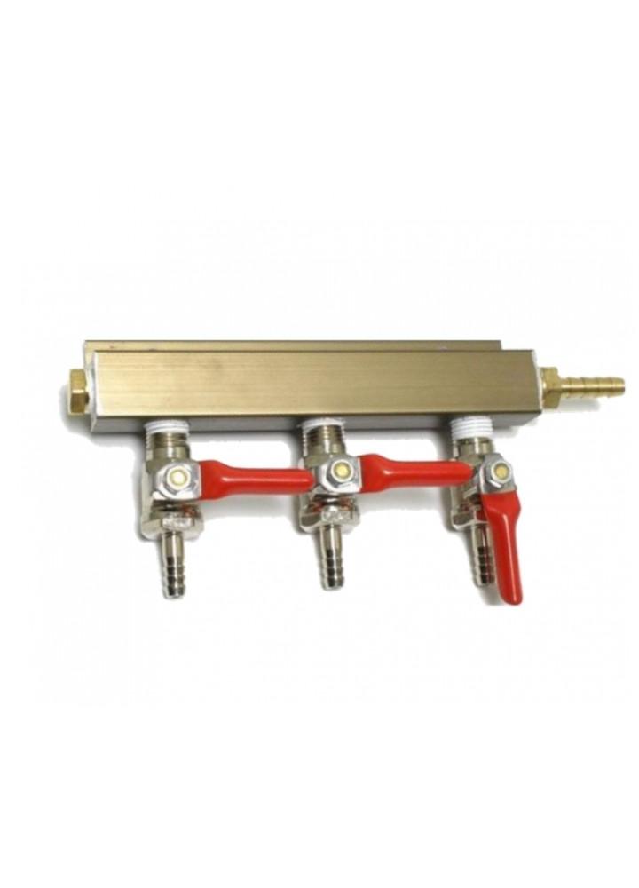 3 Way Splitter Verteiler Gas