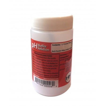 Solution tampon d'étalonnage pH-mètre