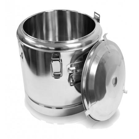 12 L de acero inoxidable termo Pot