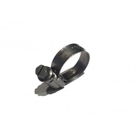 Plein Clips tuyaux en acier inoxydable (10-16 mm)