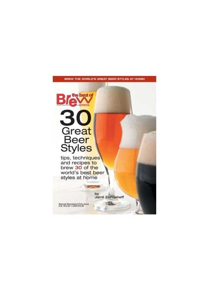 30 Grandes estilos de cerveja