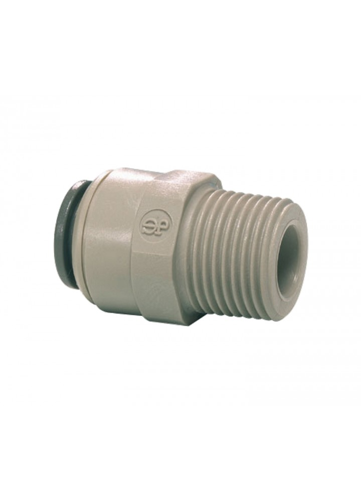 "John Guest 1/4"" NPT Male Gewinde auf 3/8"" Push fit Adapter"