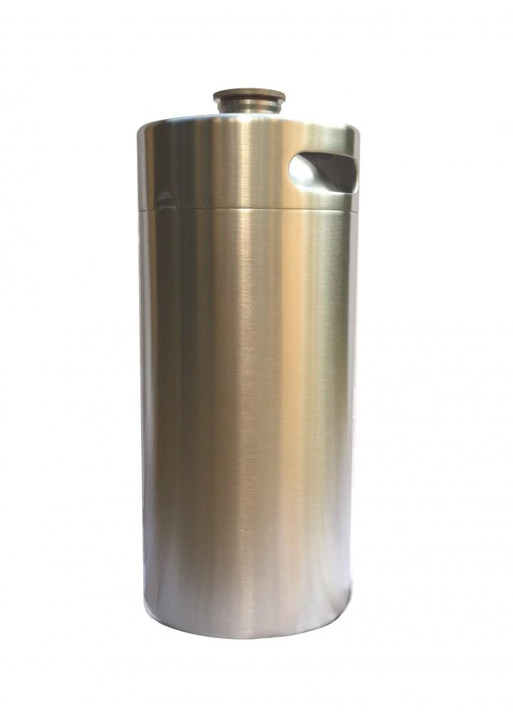 3.6L en acier inoxydable Keg Growler