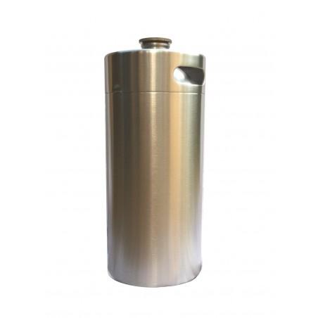 3.6L de aço inoxidável Keg Growler