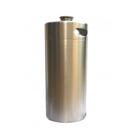 3.6L Stainless Steel Growler Keg