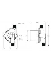 TD5 Stainless Steel Brewing Pump-Type 4