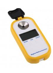 Refractómetro digital con lectura Brix y SG