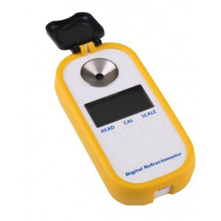 Refractômetro digital com leitura Brix e SG